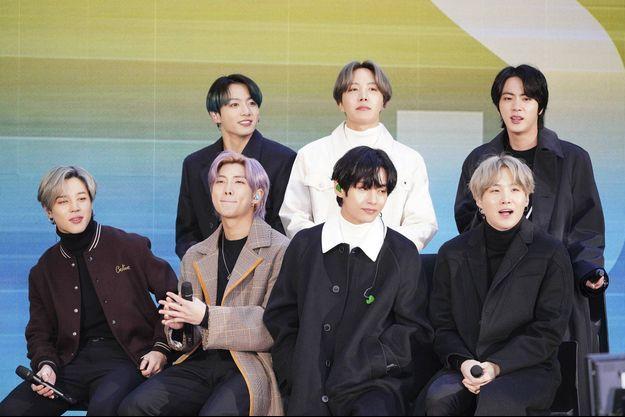Le groupe sud-coréen BTS.