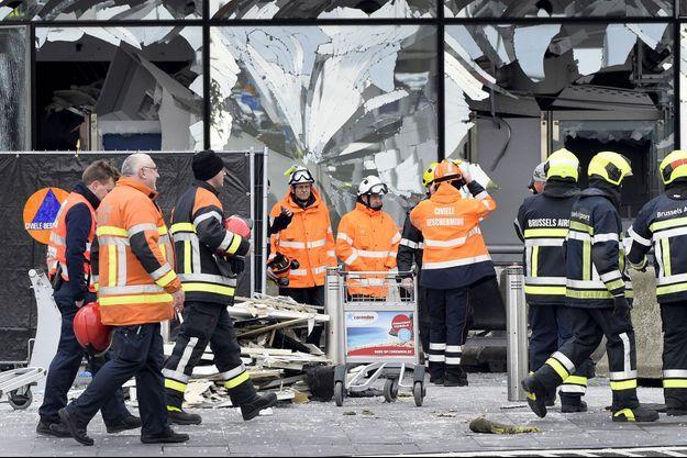 Attentat aéroport Bruxelles