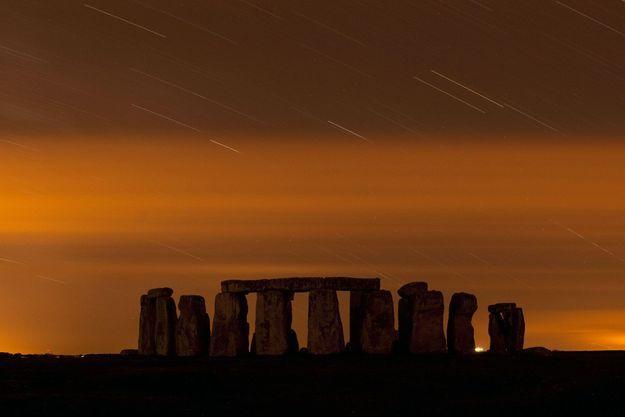 Le site de Stonehenge en août 2013.