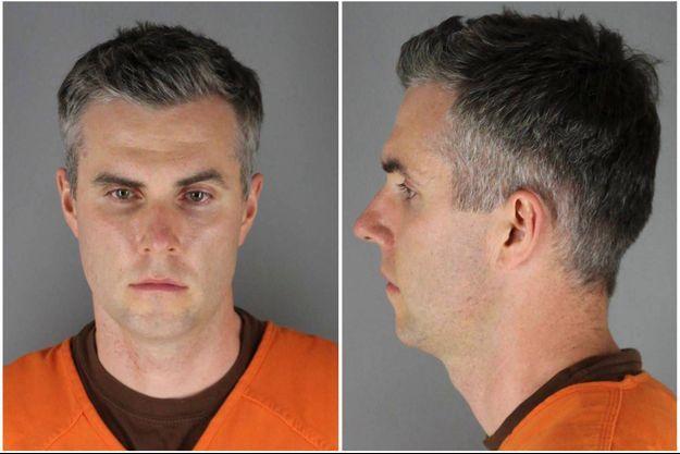 Thomas Lane, un des policiers mis en examen pour complicité de meurtre dans l'enquête sur la mort de George Floyd.