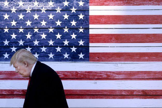 Donald Trump, photographié en février 2016.