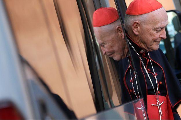 Le cardinal Theodore McCarrick.