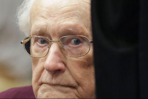 Oskar Groening, ancien SS et comptable d'Auschwitz de 96 ans
