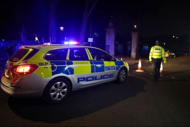 Un périmètre de sécurité a été installé autour du palais de Buckingham après l'attaque au couteau de vendredi.