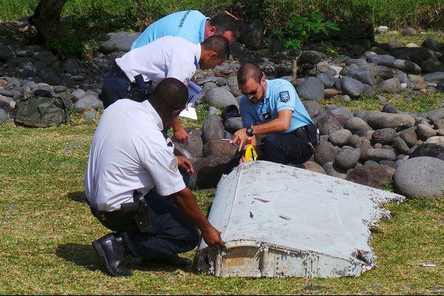 Un bout de la carcasse retrouvé à la Réunion