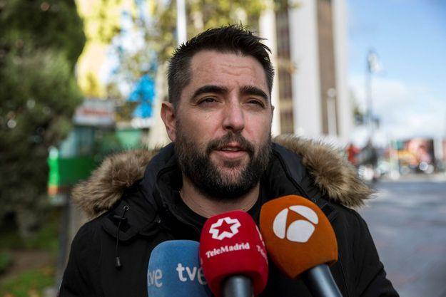 Dani Mateo, le 26 novembre 2018 à Madrid