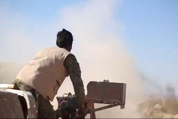 Un combattant kurde sur une image diffusée par les YPG, le 4 mars 2019 (image d'illustration).