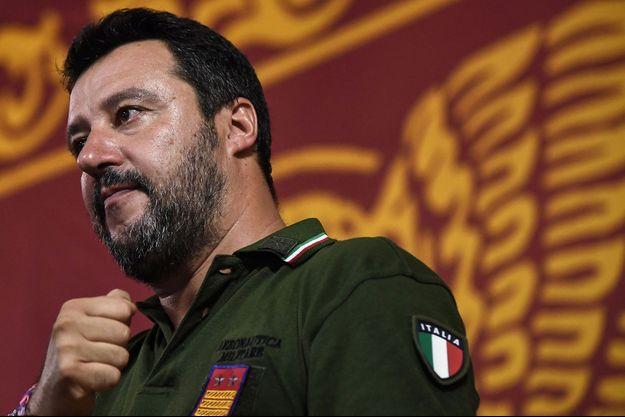 Matteo Salvini, le 30 août 2019.