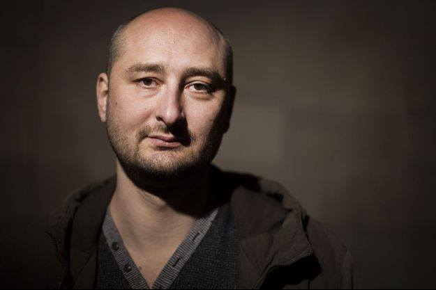 Arkadi Babtchenko, photographié à Stockholm en 2015.