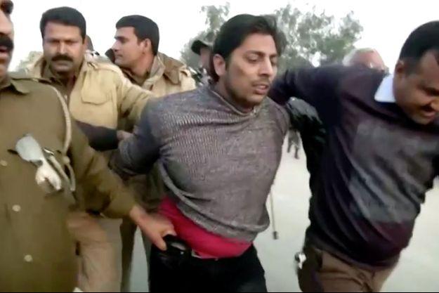 L'homme a été arrêté à New Delhi, le 1er février 2020.