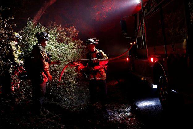 La Californie est en proie à de nombreux incendies depuis plusieurs jours.