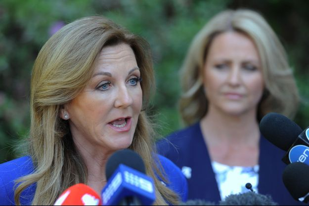 La présidente du parti Debbie Robinson, ici en 2015 à Perth.