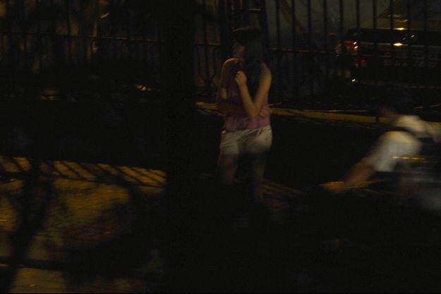 Une prostituée au Vietnam.