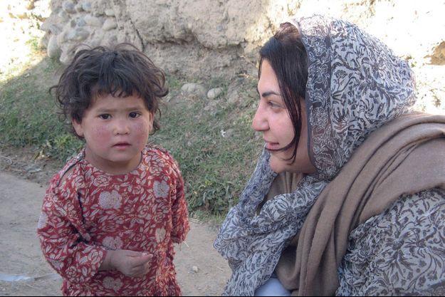 Ancienne diplomate, Chékéba Hachemi a fondé l'association Afghanistan libre qui promeut l'éducation des filles et les droits des femmes. Ici en 2013 à Paghman.