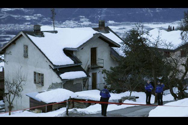 La fusillade a éclaté dans ce village suisse.