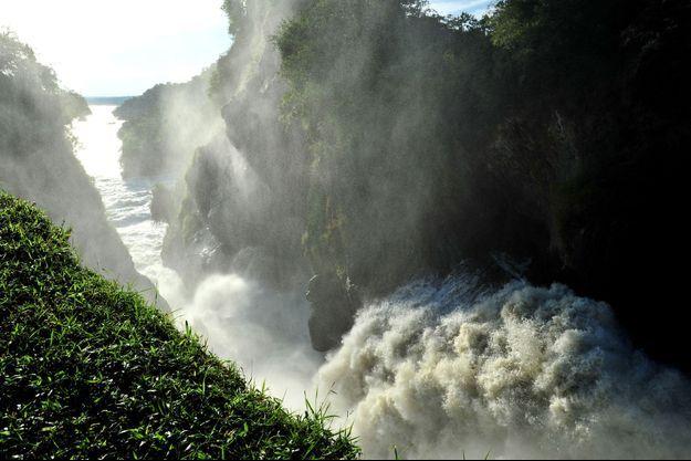 Le Nil, au Ouganda.