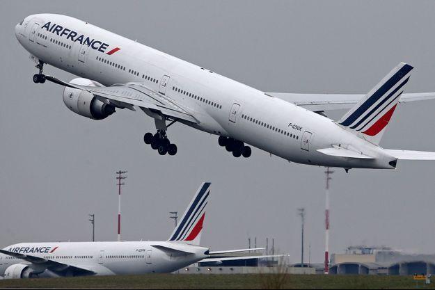 Photo d'illustration d'un boeing 777 d'Air France