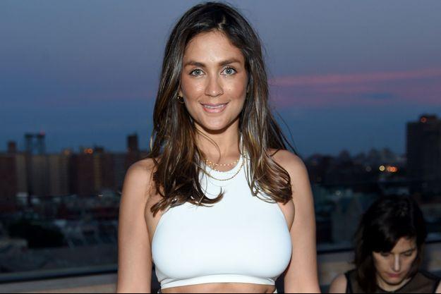 L'actrice Dominique Huett, ici en juin lors d'une soirée à New York.