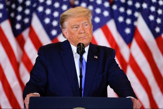 Donald Trump à la Maison-Blanche, le 4 novembre 2020.