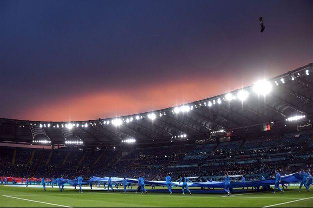 Le Stade olympique de Rome, mercredi soir.