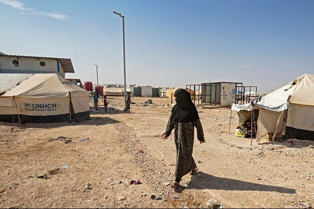 Camp d'Al-Hol en Syrie.