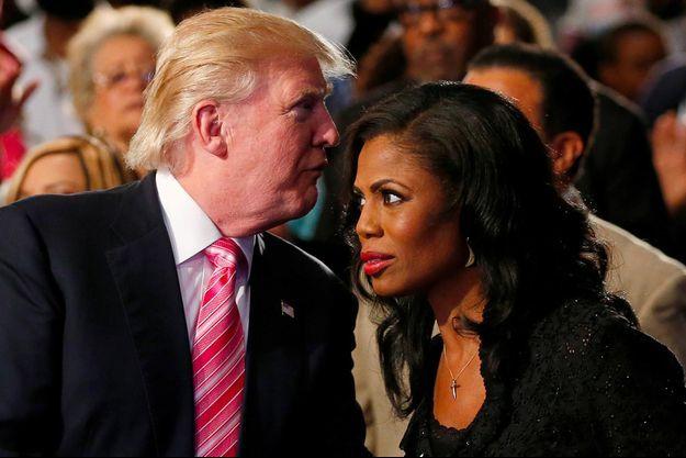 Donald Trump, Omarosa Manigault Newman