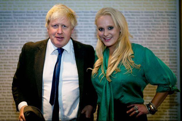 Boris Johnson et Jennifer Arcuri en octobre 2014.