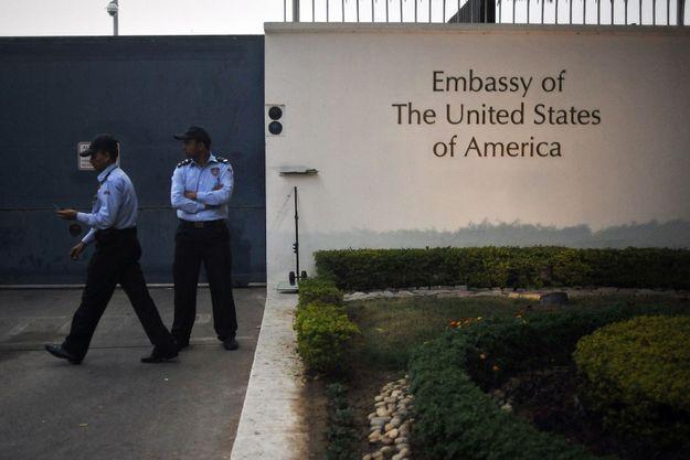 Ambassade des Etats-Unis à New Delhi.