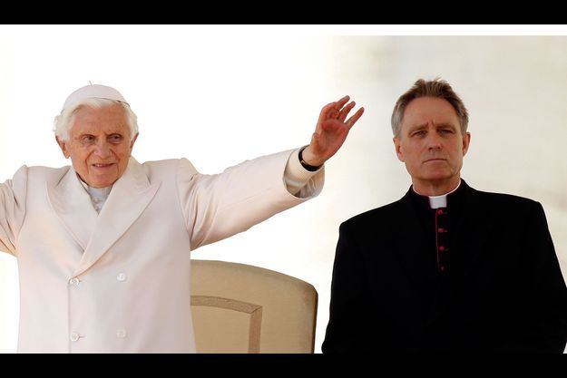 Benoît XVI et Georg Gänswein.