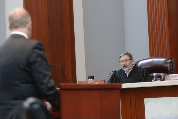 Le juge Deno Himonas, lors d'une audience à la Cour Suprême de l'Utah. Image d'illustration.