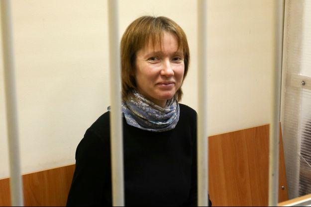 Yekaterina Zaspa, l'infirmière bientôt relâchée sous caution.