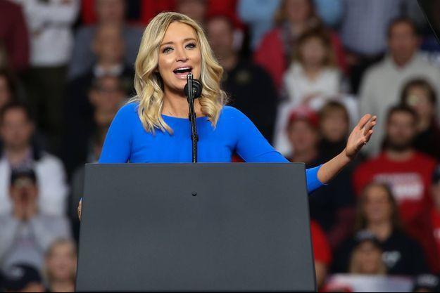 Kayleigh McEnany, la nouvelle porte-parole de la Maison-Blanche.