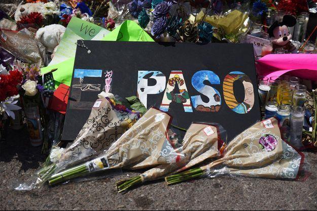 Sur les lieux de la fusillade d'El Paso. Image d'illustration.