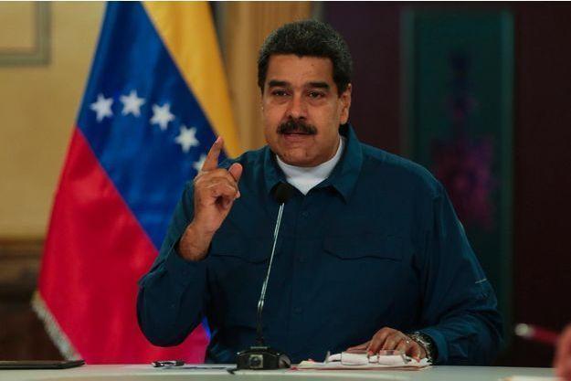 Le président vénézuélien Nicolas Maduro, en août 2018.