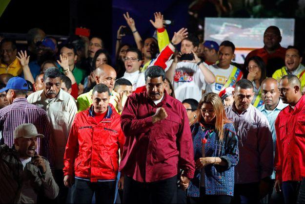 Nicolas Maduro a été réélu dimanche au Venezuela.