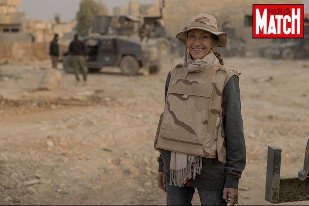 Véronique Robert est décédée après l'explosion d'une mine en Irak lundi.