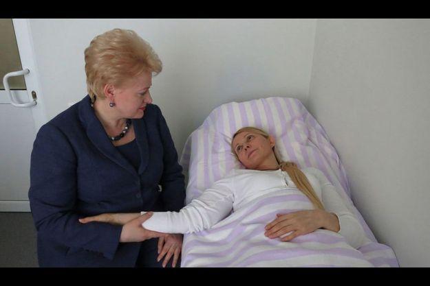La présidente lituanienne s'était rendue au chevet de Ioulia Timochenko en mai 2012.