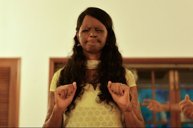 Laxmi, photographiée en juin 2015.