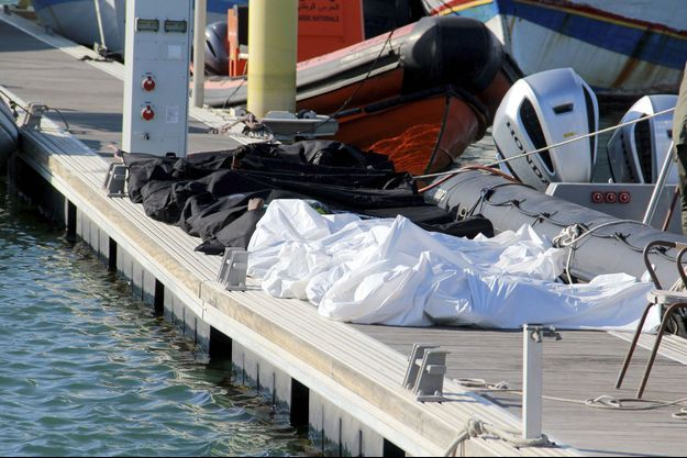 Les corps des migrants ont été repêchés au large de Sfax, sur la côte est de la Tunisie.