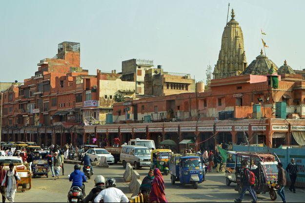 Jaipur, dans le nord de l'Inde.