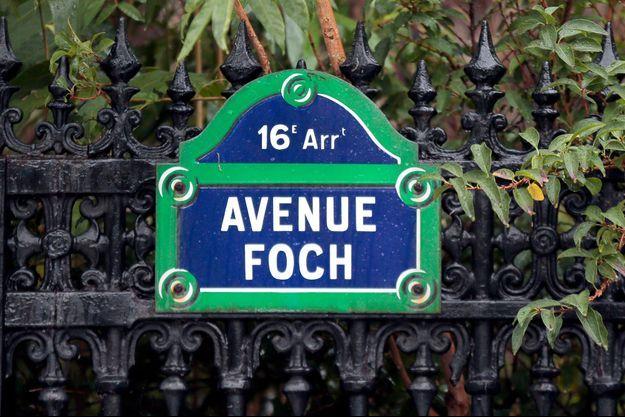 Les violences ont été commises avenue Foch, à Paris.