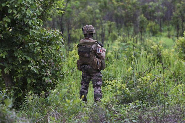 Un soldat français en Centrafrique (photo d'illustration).