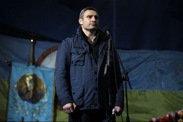 Vitali Klitschko veut devenir maire de Kiev.