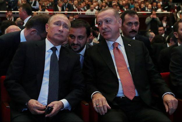 Vladimir Poutine, Recep Tayyip Erodgan