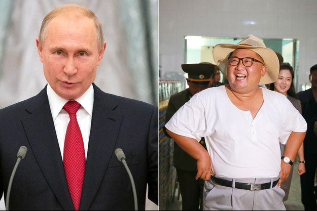Vladimir Poutine s'est dit prêt à rencontrer Kim Jong-un.