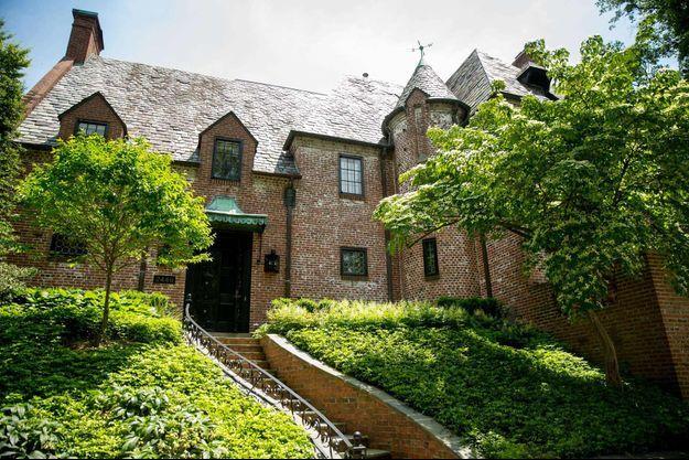 C'est dans cette magnifique maison que résideront les Obama à compter de janvier 2017.