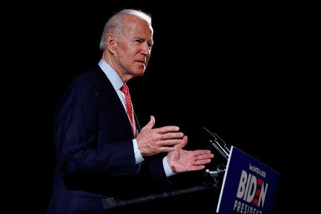 Joe Biden dans le Delaware, le 12 mars dernier.