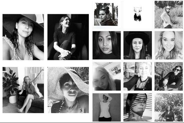 De nombreuses célébrités et anonymes partagent des photos d'elles en noir et blanc sur Instagram.