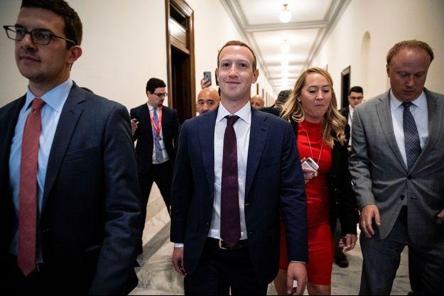 Mark Zuckerberg à la Maison Blanche jeudi.