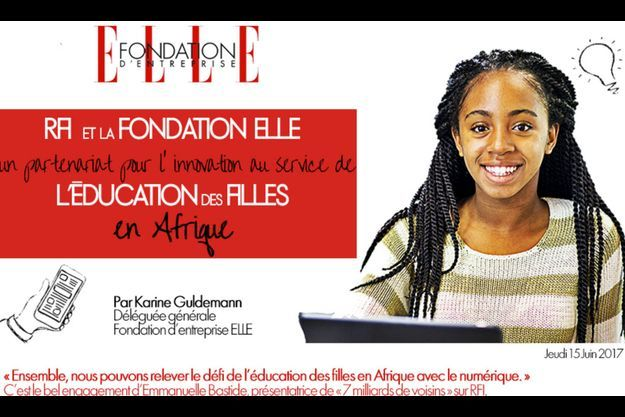 RFI et la Fondation Elle